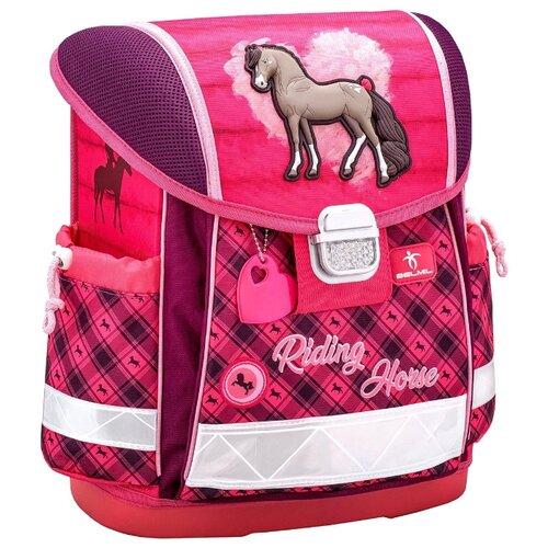 Купить Belmil Ранец Classy Riding Horse (403-13/714), розовый, Рюкзаки, ранцы
