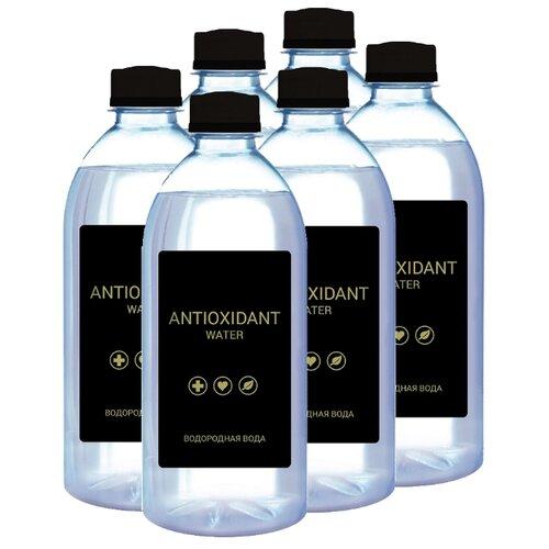 Вода питьевая Селигер Боттлинг Компани Antioxidant водородная негазированная, пластик, 6 шт. по 0.5 л маска водородная вода нано коллаген 30 шт