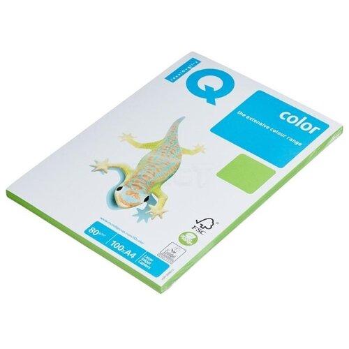 Фото - Бумага IQ Color А4 80 г/м² 100 лист. ярко-зеленый MA42 1 шт. бумага iq color а4 color 120 г м2 250 лист оранжевый or43 1 шт
