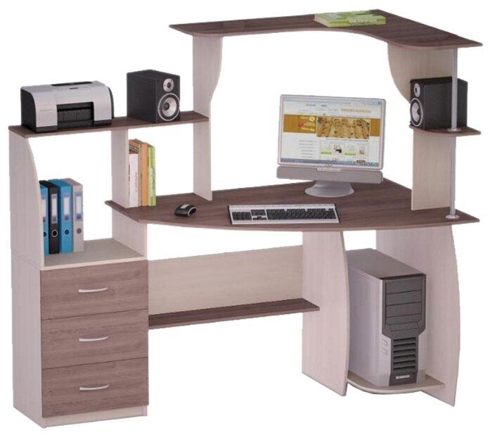 Компьютерный стол угловой Комфорт Роберт-7