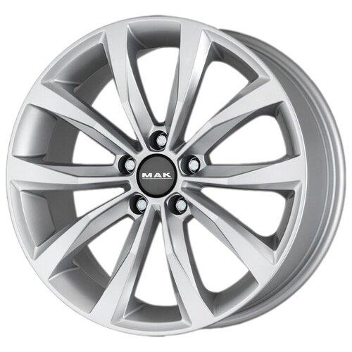 Фото - Колесный диск Mak Wolf 8х18/5х112 D57.1 ET44, silver колесный диск rial x10 8х18 5х120 d72 6 et34 polar silver