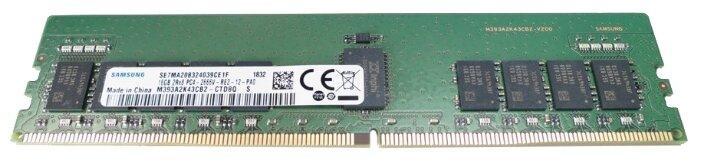 Оперативная память 16 ГБ 1 шт. Samsung DDR4 2666 Registered ECC DIMM 16Gb (M393A2K43CB2-CTD)