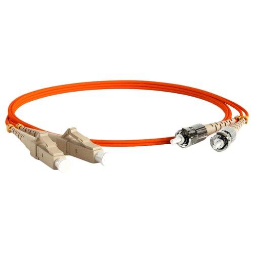 Патч-корд Hyperline FC-D2-62-LC/PR-ST/PR-H-2M-LSZH 2 м оранжевый