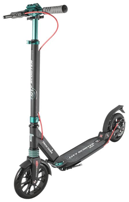 Самокат Tech Team City Scooter Disk Brake 2020 Green