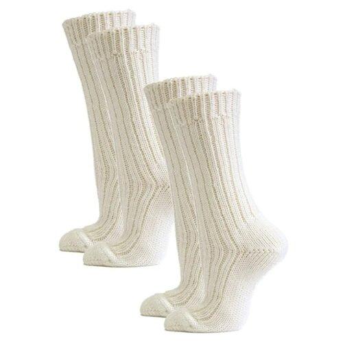 Носки HOSIERY 71505, 2 пары, размер 23-25, белый