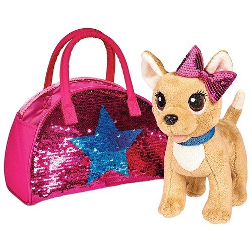 Мягкая игрушка Simba Chi-chi love Собачка Блестящая мода 20 см