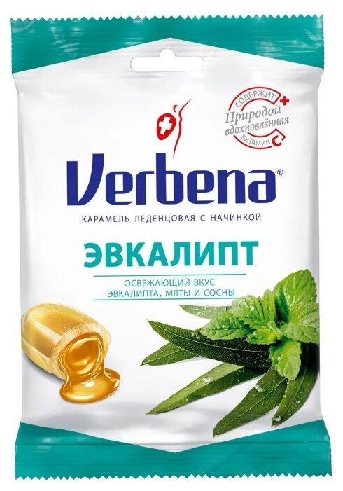 Карамель на травах Verbena Эвкалипт 60 г