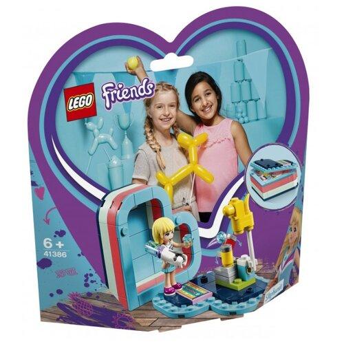 Конструктор LEGO Friends 41386 Летняя шкатулка-сердечко для Стефани конструктор lego friends игровая шкатулка стефани
