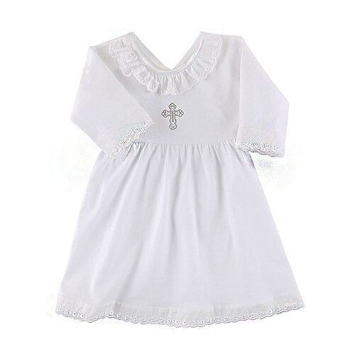 Платье Наша мама размер 74, белый платье oodji ultra цвет красный белый 14001071 13 46148 4512s размер xs 42 170
