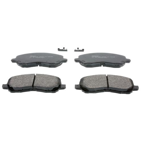 Фото - Дисковые тормозные колодки передние Ferodo FDB4388 для Dodge Caliber, Mitsubishi ASX, Jeep Compass (4 шт.) дисковые тормозные колодки передние ferodo fdb1698 для mitsubishi toyota lexus 4 шт