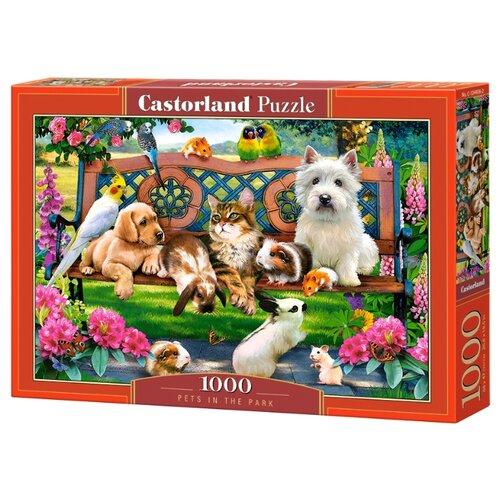 Купить Пазл Castorland Pets In The Park (C-104406), 1000 дет., Пазлы