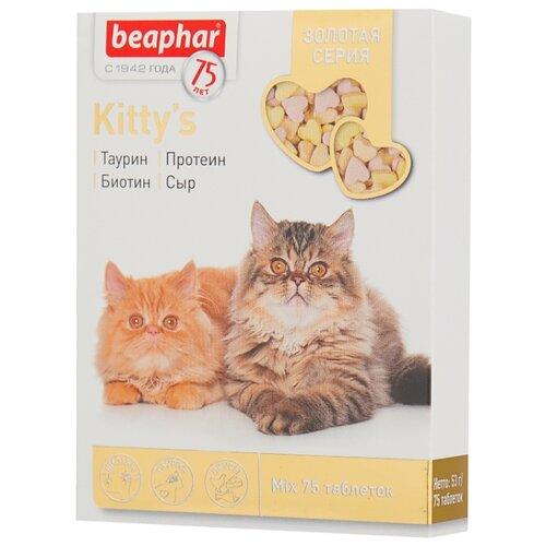 Добавка в корм Beaphar Kitty's Mix 53 г 75 шт.