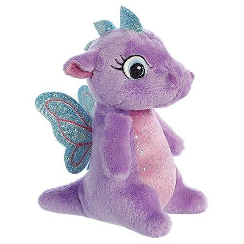 Мягкая игрушка Aurora Дракончик фиолетовый 16 см, Мягкие игрушки  - купить со скидкой