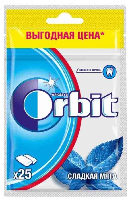 Жевательная резинка Orbit Сладкая мята, без сахара, 34г