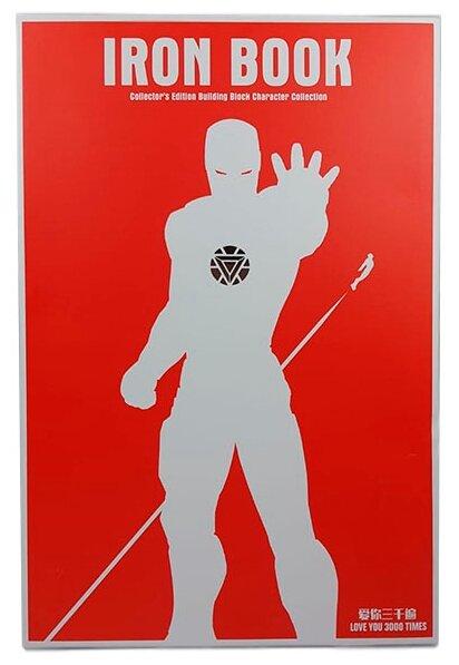 SY1361 SY Коллекция из 52 минифигурок Железного человека Iron Book
