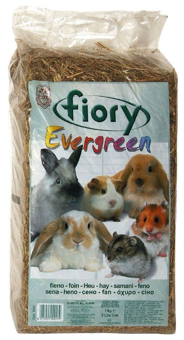 Сено Fiory Evergreen 1 кг/30 л