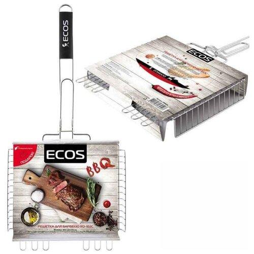 Решетка ECOS RD-102C для барбекю, 31х24 см