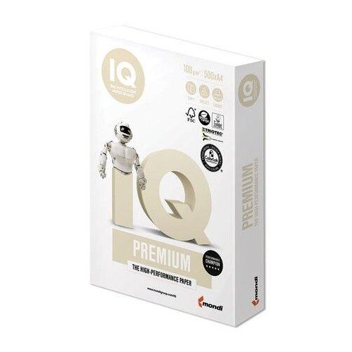 Фото - Бумага IQ Premium A4 100 г/м² 500 лист., белый бумага iq premium a4 80 г м² 500 лист