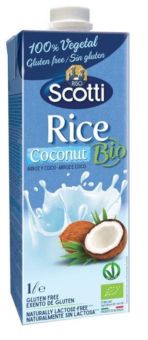 Рисовый напиток Riso Scotti Rice с кокосом 1.1%, 1 л