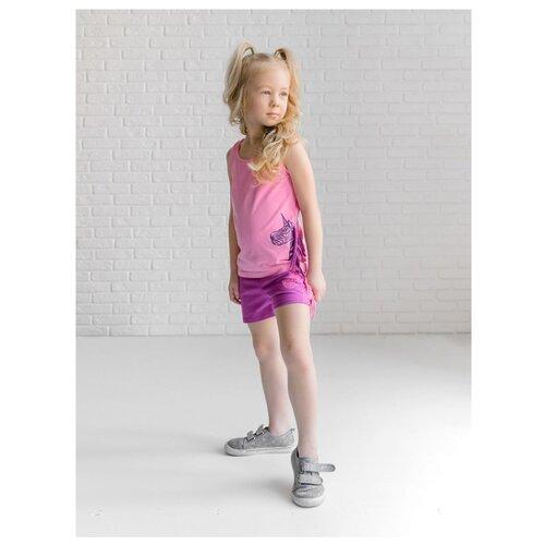 Комплект одежды looklie размер 98-104, розовый комплект одежды looklie размер 98 104 изумрудный