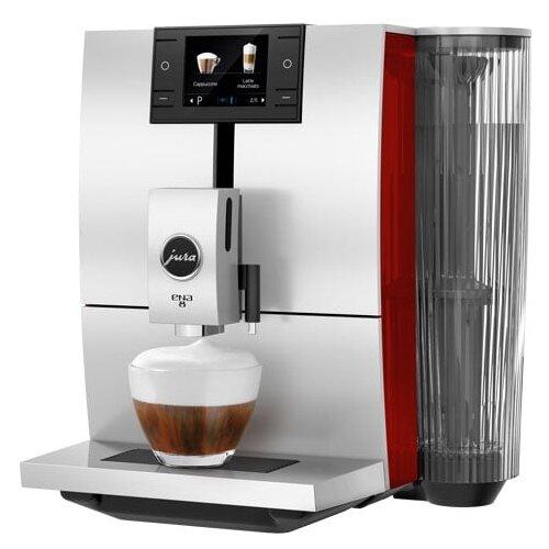 Кофемашина Jura Ena 8 sunset red кофемашина jura z6 satinsilber серебристый черный