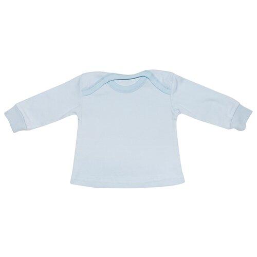 Купить Лонгслив Клякса размер 26-86, голубой, Футболки и рубашки