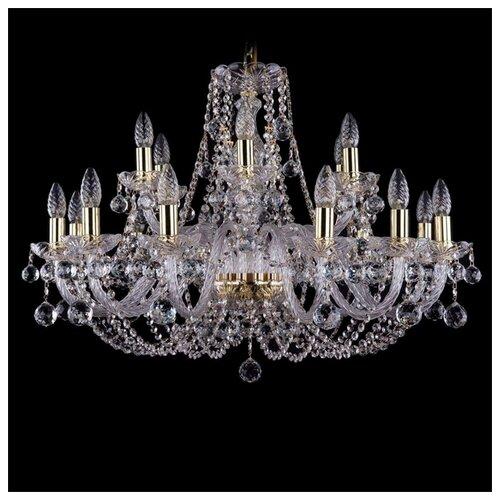 Фото - Bohemia Ivele Crystal 1406 1406/12+6/300/G/Balls люстра bohemia ivele crystal 1406 1406 8 141 g balls e14 320 вт