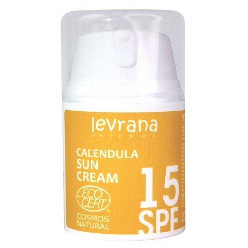 Levrana Календула, матирующий крем для лица SPF15, 50 мл недорого