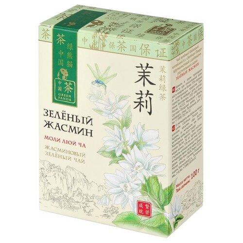 Чай зеленый Green Panda Зеленый жасмин, 100 г доброе утро жасмин зеленый чай 80 г