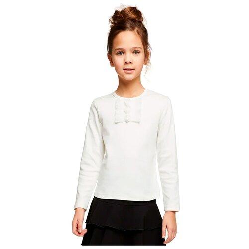 Блузка Снег размер 122-128, молочный, Рубашки и блузы  - купить со скидкой