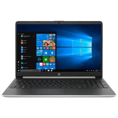 Ноутбук HP 15s-eq1015ur (AMD Athlon 3050U 2300MHz/15.6/1366x768/4GB/128GB SSD/DVD нет/AMD Radeon Graphics/Wi-Fi/Bluetooth/Windows 10 Home) 132T6EA естественный серебряный ноутбук