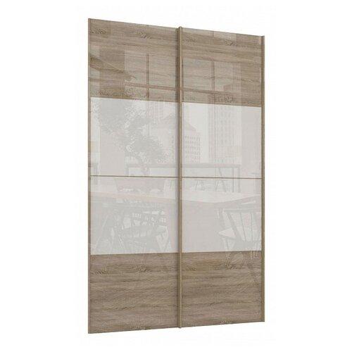 Двери раздвижные Stolline для шкафа Марвин-3 СТЛ.299.41 белый/дуб сонома