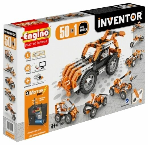 Электромеханический конструктор ENGINO Inventor Motorized 5030-50