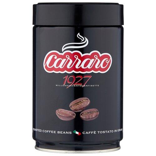 Кофе в зернах Carraro 1927 в жестяной банке, арабика, 250 г кофе в зернах bonfuse asia арабика 250 г