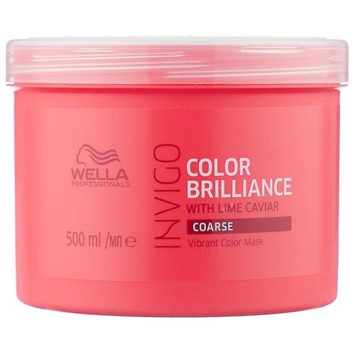 Фото - Wella Professionals INVIGO COLOR BRILLIANCE Маска-уход для защиты цвета жестких волос, 500 мл wella professionals invigo color brilliance gift set