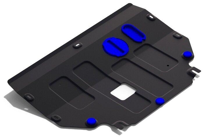 Защита картера двигателя и коробки передач RIVAL 111.2840.1 для Kia
