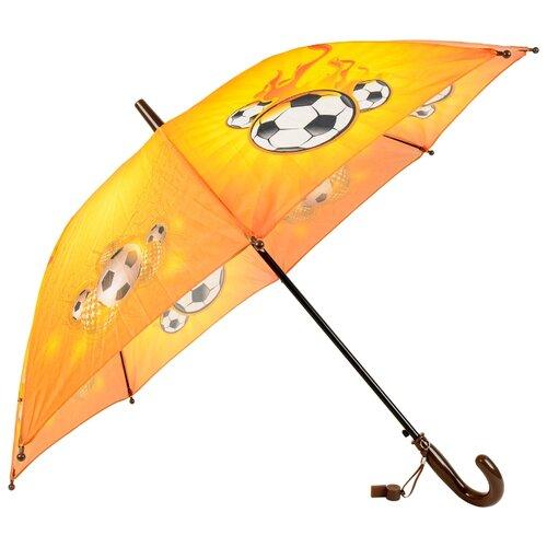 Зонт-трость полуавтомат детский Rain Lucky 915-5 LACN со свистком