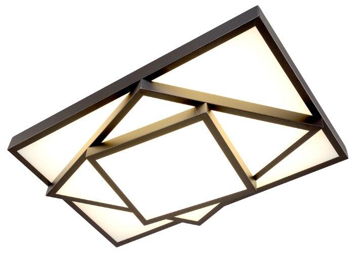 Люстра Максисвет Панель 1-7304-BK Y LED