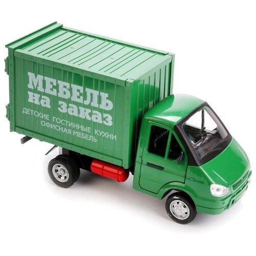 Купить Грузовик Play Smart Мебель на заказ 9077-B зеленый, Машинки и техника