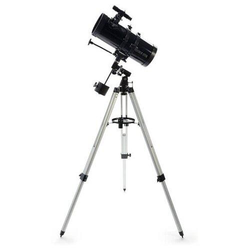 Фото - Телескоп Celestron PowerSeeker 127 EQ черный/серый телескоп celestron powerseeker 80 eq салфетки из микрофибры в подарок