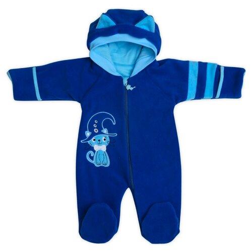 Комбинезон Babyglory размер 68, синий джемпер для новорожденных babyglory superstar цвет синий ss001 09 размер 80