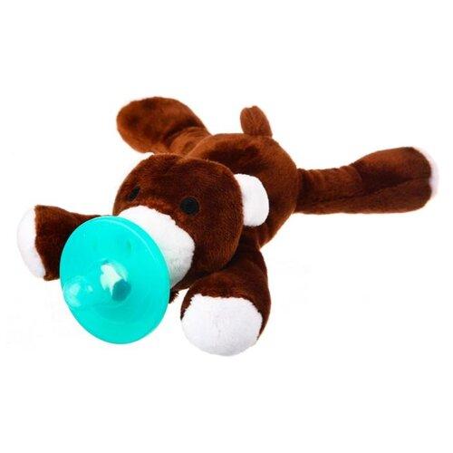Купить Прорезыватель Крошка Я Мишка 3471916 коричневый, Погремушки и прорезыватели