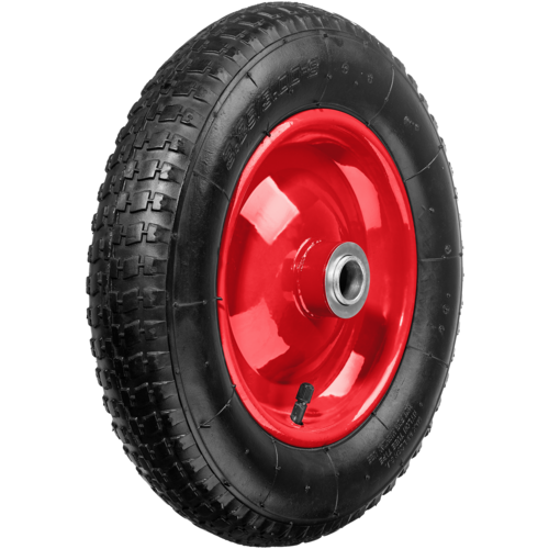 Фото - Колесо для тачки ЗУБР пневматическое КП-2 (39955-2) 360 мм колесо для тачки зубр 380х16мм полиуретановое 39912 2