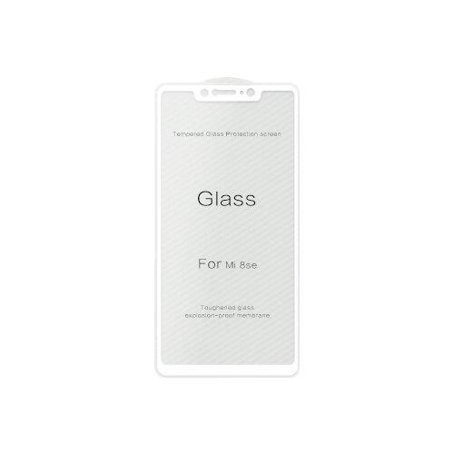 Защитное стекло Ainy 2.5D Full Screen Cover AF-X576 для Xiaomi Mi8 SE белый защитное стекло ainy full screen cover 3d для sony xperia xa ultra розовое 0 2мм