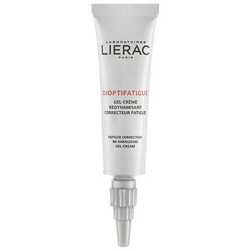 Lierac Гель-крем тонизирующий коррекция признаков усталости Dioptifatigue Gel-Crème Redynamisant Correcteur Fatigue, 15 мл недорого