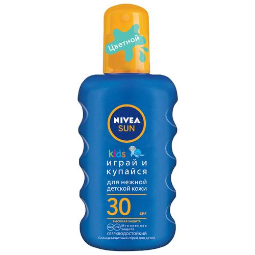 Nivea Sun Kids детский солнцезащитный спрей SPF 30 200 мл
