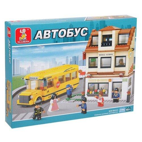 Купить Конструктор SLUBAN Автобус M38-B0333, Конструкторы