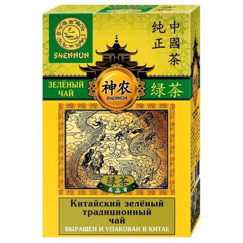 грин ти коллекшн чай зеленый китайский пакетированный двухкамерный с ярлычком 50 г Чай зеленый Shennun Китайский традиционный, 100 г
