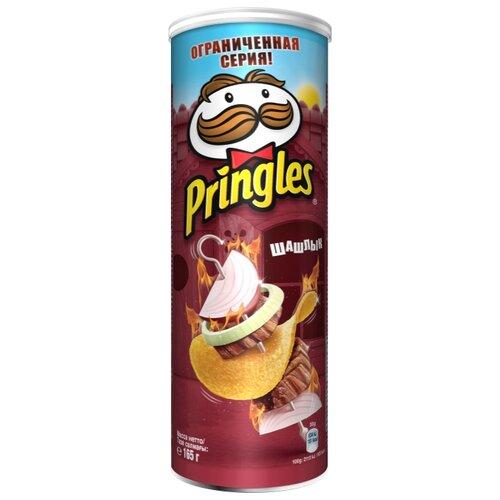 Чипсы Pringles картофельные Шашлык, 165 г
