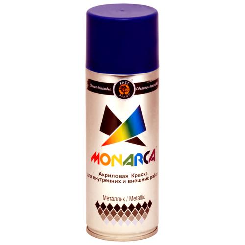 Краска Eastbrand Monarca металлик блестящий голубой 520 мл